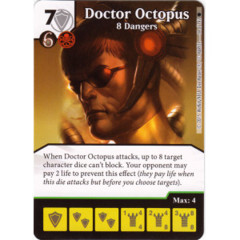 Doctor Octopus - 8 Dangers (Die & Card Combo)