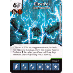 Electro - Supercharged (Die & Card Combo)