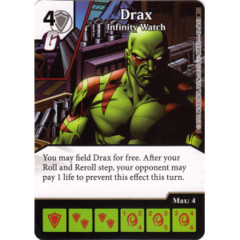 Drax - Infinity Watch (Die & Card Combo)