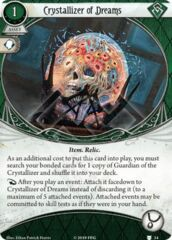 Crystallizer of Dreams / Guardian of the Crystallizer Bonded Cards (1 copy each)