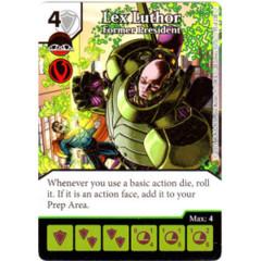 Lex Luthor - Former President (Die & Card Combo Combo)