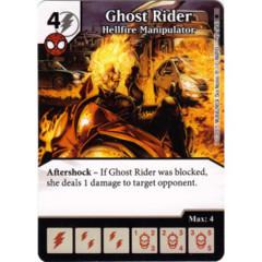 Ghost Rider - Hellfire Manipulator (Die & Card Combo)