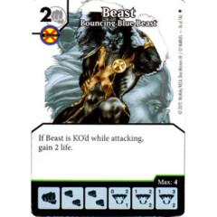 Beast - Bouncing Blue Beast (Die & Card Combo)