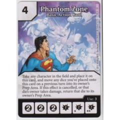 Phantom Zone - Basic Action Card (Die & Card Combo Combo)