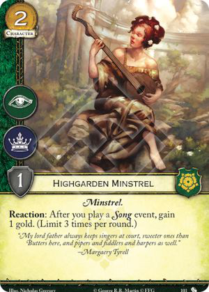 Highgarden Minstrel