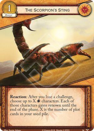 The Scorpions Sting