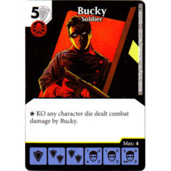 Bucky - Soldier (Die & Card Combo)