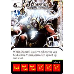 Shazam! - Wisdom of Solomon (Die & Card Combo Combo)