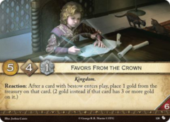 Favors From the Crown