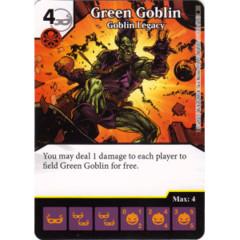 Green Goblin - Goblin Legacy (Die & Card Combo)