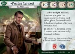 Preston Fairmont Investigator Bundle