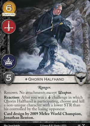Qhorin Halfhand - TC 105