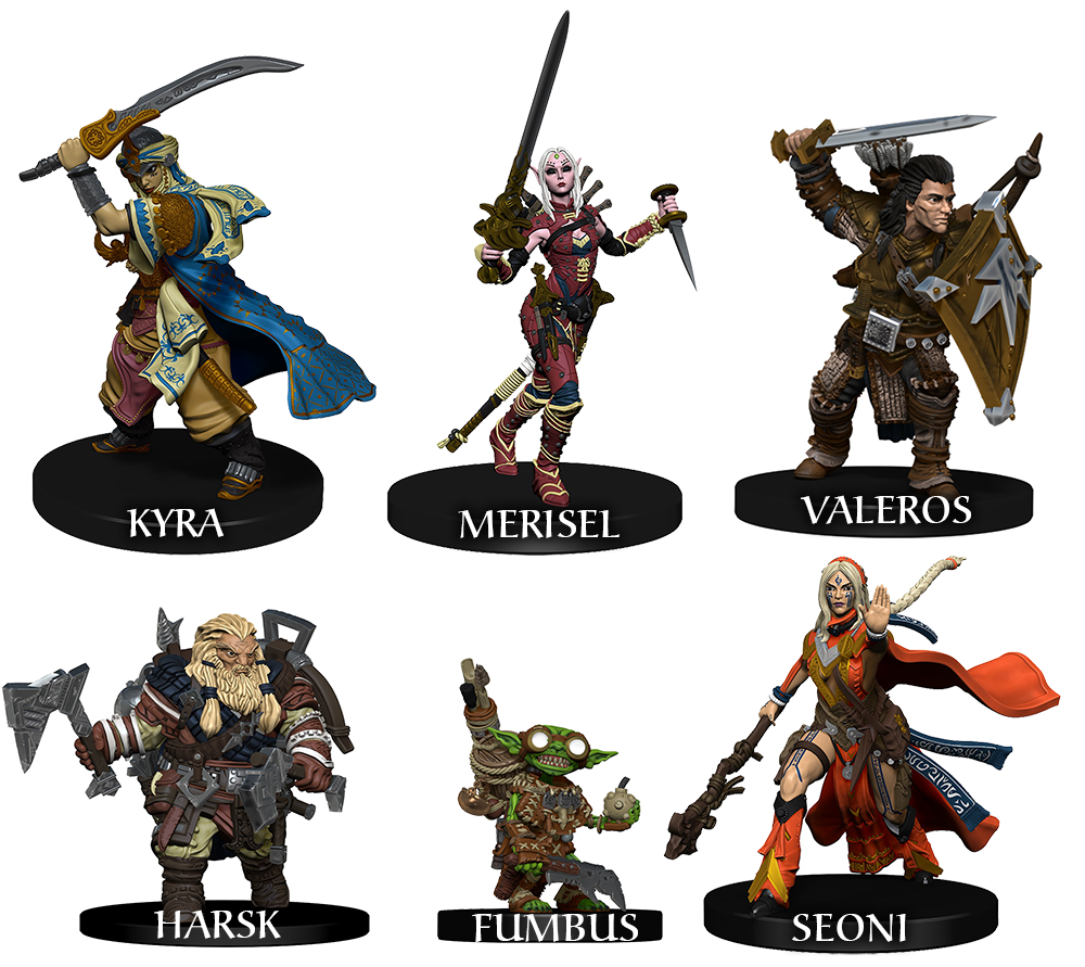 Details about Pathfinder Battles: PRESALE Iconic Heroes Evolved Boxed Set 1  NM