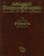 AD&D Dungeons & Dragons RPG: The Complete Priest's Handbook TSR