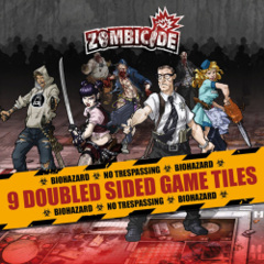 Zombicide: 9 double-sided game tiles accessory