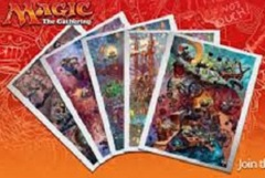 MTG: Unstable all 5 promo draft weekend posters