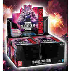 Transformers TCG: War for Cybertron II Siege Booster Box Display (30-count)