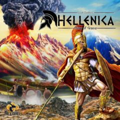 Hellenica - Story of Greece: kickstarter exclusive board game + 2 expansions in hand