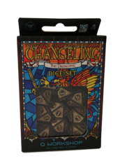 Q-Workshop Dice: PRESALE Changeling 20th anniversary edition 10d10 set