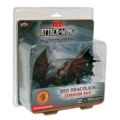 D&D Dungeons & Dragons Attack Wing: Red Dracolich expansion pack