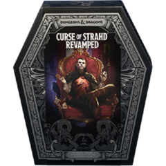 Dungeons & Dragons 5e RPG: Curse of Strahd Revamped boxed set