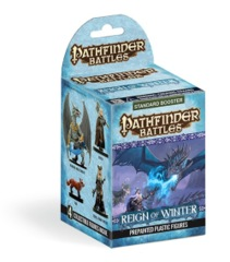 Pathfinder Battles: Reign of Winter booster pack
