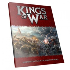 Kings of War: 2nd edition base/core Rulebook mantic