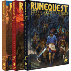 Runequest RPG: Roleplaying in Glorantha deluxe slipcase set