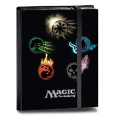 Ultra Pro: Mana Symbols Series 4 premium Pro-Binder 9-pocket pages 86103