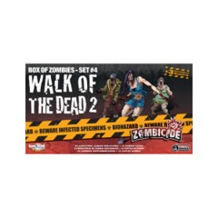 Zombicide: Walk of the Dead 2 expansion box of zombies set 4