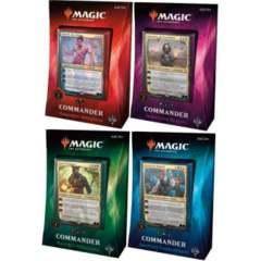 Commander 2018 - Complete Set of 4 decks