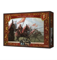 A Song of Ice & Fire Miniatures Game: PRESALE Lannister Knights of Casterly Rock unit box