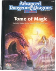 AD&D Dungeons & Dragons RPG: Tome of Magic 2nd edition TSR
