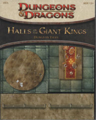 D&D Dungeons and Dragons RPG: Hall of the Giant Kings dungeon tiles