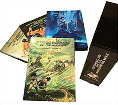 Edgar Rice Burroughs: 100 Year Art Chronology books slipcase collection