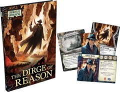 Arkham Horror LCG: living card game The Dirge of Reason hardcover w/ cards
