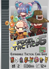 Pixel Tactics: PRESALE set 5 card game level 99