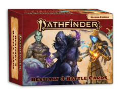 Pathfinder RPG: PRESALE Bestiary 3 Battle Cards paizo
