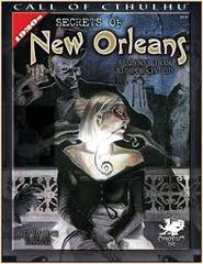 Call of Cthulhu 6th edition roleplaying game RPG: Secrets of New Orleans