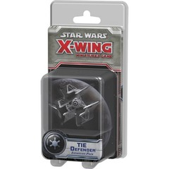 Star Wars X-Wing miniatures game Tie Defender pack fantasy flight