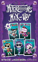 Muertoons Mix-Up!: PRESALE card game steve jackson games