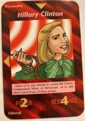 Illuminati - New World Order CCG: Hillary Clinton