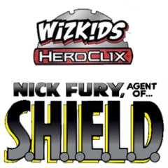 Heroclix: Nick Fury, Agent of SHIELD Dice and Token Pack