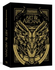 Dungeons and Dragons: Art and Arcana - A Visual History DELUXE Slipcase edition