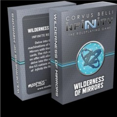 Infinity Roleplaying Game RPG: PRESALE Wilderness of Mirrors Deck modiphius