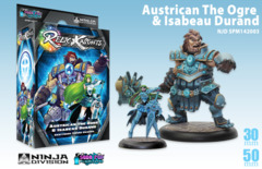 Relic Knights: Dark Space Calamity Austrican the Ogre & Isabeau Durand (shattered sword)