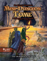 Dungeons and Dragons 5th edition: Mini-Dungeon Tome