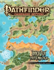 Pathfinder Campaign Setting RPG Roleplaying Game: Inner Sea poster map folio