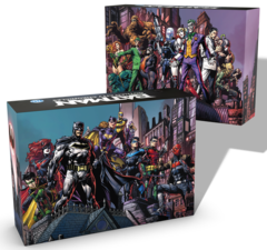 Batman - Gotham City Chronicles: base core boxes (heroes & villains) board game kickstarter exclusive monolith