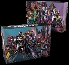 Batman - Gotham City Chronicles: base core boxes (heroes & villains) board game kickstarter exclusive monolith
